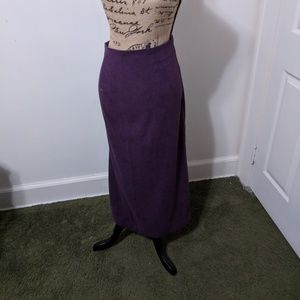 Dresses & Skirts - Size 16 Suede long skirt